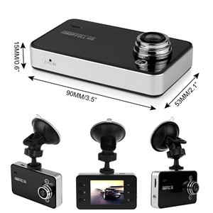 "Mini 2.4"" HD 720P Car Camera DVR Camcorder Auto Tachograph Video Recorder K6000"