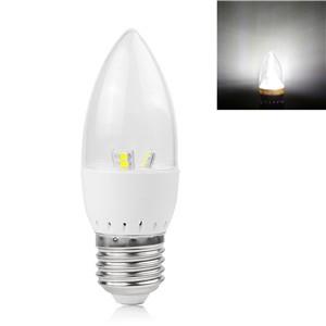 5W E27 LED Candle Bulb 2835SMD Spotlight Lamp Cool White/Warm White AC 85-265V