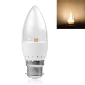 5W B22 LED Candle Bulb 2835SMD Spotlight Lamp Warm White/Cool white AC 85-265V