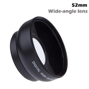 LemonBest - HD 52MM 0.45x Wide Angle Lens with Macro Lens for Canon Nikon Sony Pentax Minolta Pansonic 52MM DSLR Camera