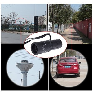 LemonBest - Upgrade 16X52 Zoomable Monocular Telescope Dual Focus for Sports Hunting/Camping Optics
