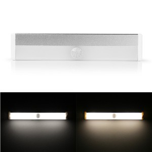 Rechargeable Magnetic Infrared IR Motion Sensor LED Wall Lights Night Light Auto On/Off for Hallway Pathway Staircase Wall Fridge