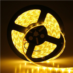 Waterproof 5M 5050 SMD 300LED Strip Light Lamp Warm White/Cool White DC 12V