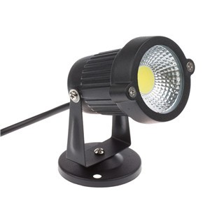 Waterproof 3W/5W COB LED Lawn Garden Flood Light Yard Patio Path Spotlight Lamp with Base
