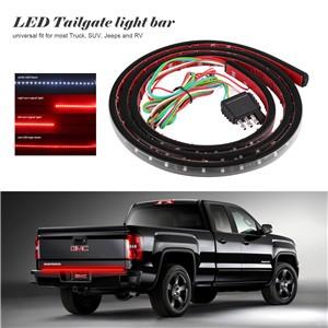 """60"""" Flexible Car Truck 90-LED Tailgate Light Bar Running/Brake/Reverse/Signal/Rear Strip Light Lamp SMD Red and White 12V"""