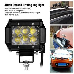 4inch 30W LED Work Light Bar Offroad Driving Fog Light Flood Lamp for 4WD SUV ATV 4X4 Boat ATV