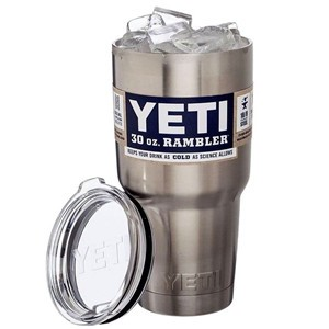Hot 20/30oz Yeti Rambler Cooler Tumbler Stainless Steel Cup Coffee Mug