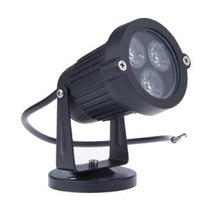 LemonBest-3*3W LED Lawn Garden Flood Light Yard Patio Path Spotlight Lamp AC 85-265V/ AC/DC 12V