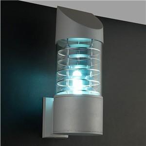 Waterproof Aluminum Glass Lampshade LED Wall Light Fixtures IP65 Wall Lamp Outdoor E27 Socket AC 85-240V