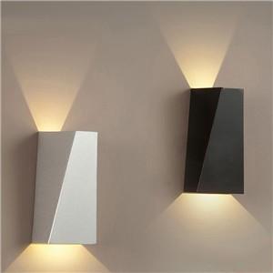 Morden Dual-Head Geometry 10W LED Wall Light Bedside Lamp SMD 5730