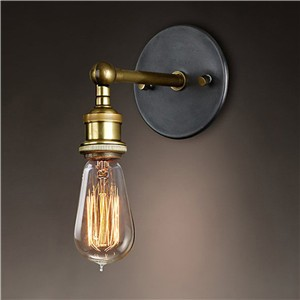 LemonBest-Adjustable Vintage Industriial Metal Wall Light Sconce Wall Lamp Fixtures