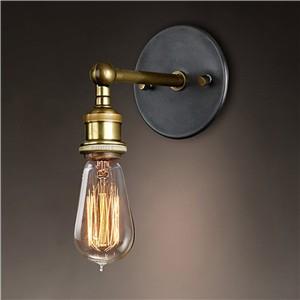 LemonBest-Adjustable Vintage Industriial Metal Wall Light Sconce Wall Lamp Fixtures