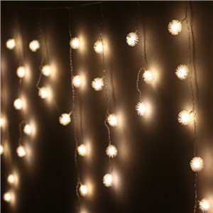 LemonBest-Waterproof 8 Mode 48 LED String Light Outdoor Indoor for Party Chirstmas Birthday Wedding Garden Warm/Cool White 220V/110V EU/US Plug