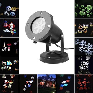 LED Laser Star Christmas Home Garden Light Sky Shower Indoor Outdoor Decoration