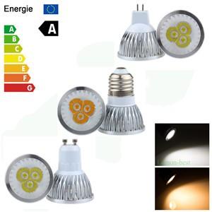 9W/12W/15W GU10/E27/MR16 Dimmable LED Bulb Spotlight Lamp Warm White/Cool White