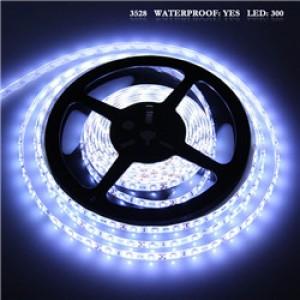 LemonBset - Waterproof 3528 SMD Cool White 300LED Strip Light String Lamp DC 12V