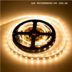 LemonBest - 5630 SMD 300LED Strip Light Lamp Warm White DC 12V