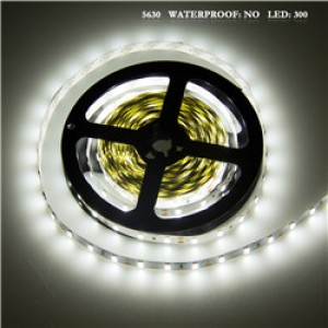 LemonBest - 75W 5630 SMD 300LED Strip Light Lamp Cool White DC 12V