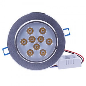 LemonBest - (Warm) 27W LED Ceiling Light Recessed Spotlight Downlight Warm White 100-245V